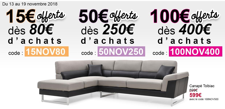 3 offres spéciales : jusqu'à 100€ offerts !