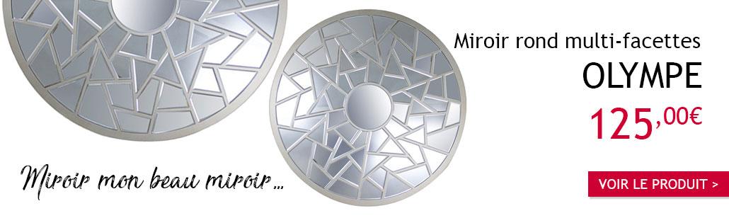 Miroir design Olympe