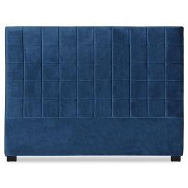 Tête de lit Chess 160cm Velours Bleu