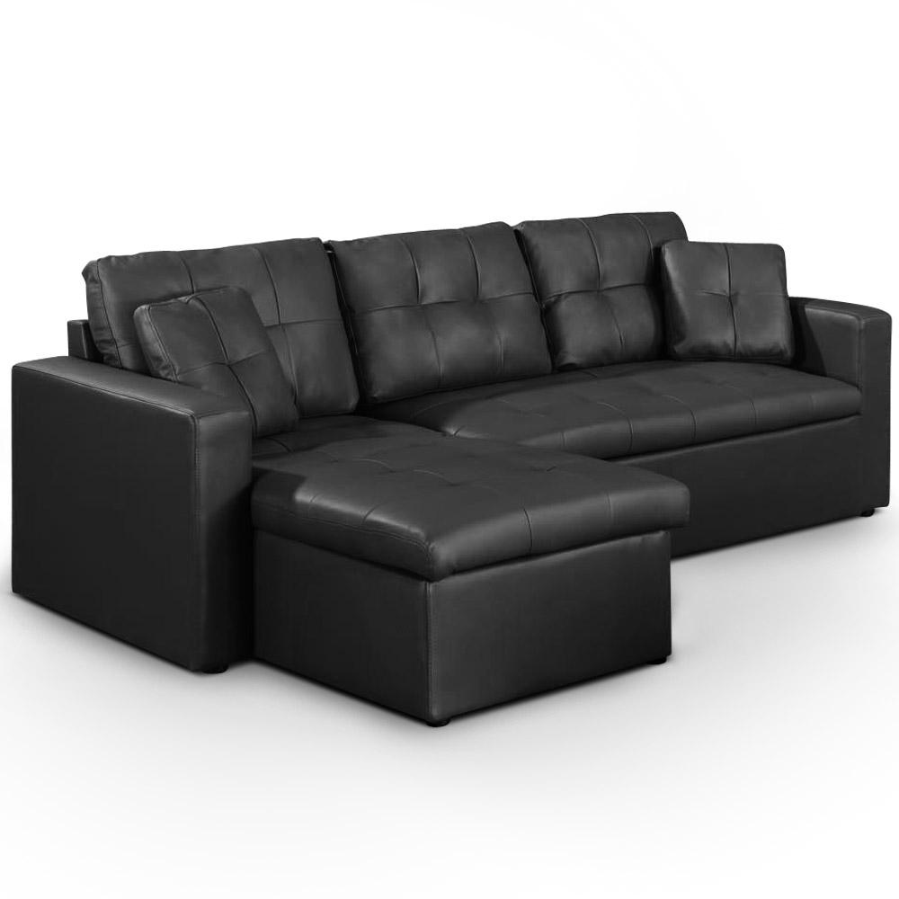 Canap pour chambre ado meuble bureau style industriel marron et noir chambr - Canape pas cher suisse ...
